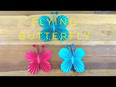 How to make a paper butterfly | Easy origami butterflies for beginners making | Easy Finger Knitting