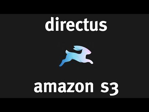 Amazon S3 with Directus