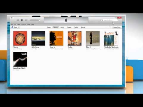 How to Backup and restore the iTunes® library on a Windows® 8.1 PC
