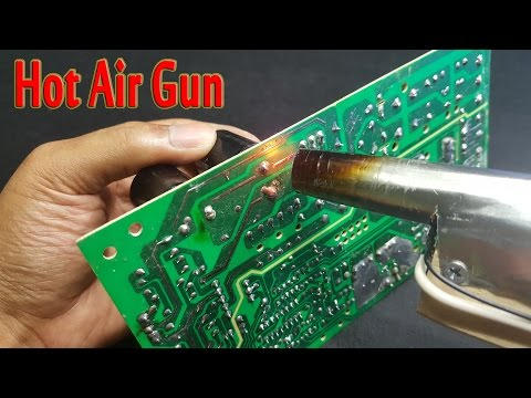 How To Make A Mini Hot Air Gun Simple At Home