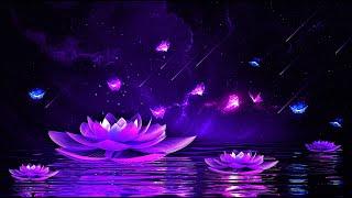 Peaceful Night 💜 Soothing Deep Sleep Music | 528Hz Calming Sleeping Music | Healing Sleep Meditation