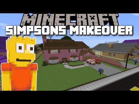 Minecraft FURNITURE ADVENTURES MOD / SIMPSON LIMITED EDITION!! Minecraft [01]