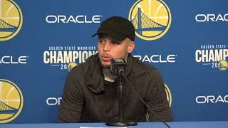 Stephen Curry Postgame Interview / GS Warriors vs LA Clippers / Feb 22