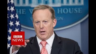 White House press secretary Sean Spicer resigns - BBC News