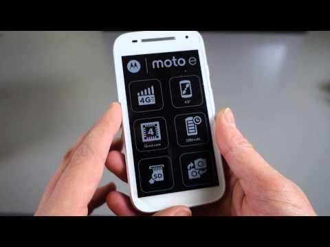 Motorola Moto E di seconda generazione: specifiche e unboxing