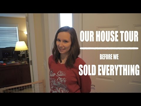Our House Tour -  Before We Sold Everything to Full Time RV