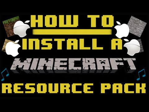 How To: Install A Minecraft Resource Pack [Mac] [1.10.2]