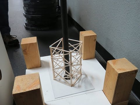 Balsa Wood Structure Weight Contest