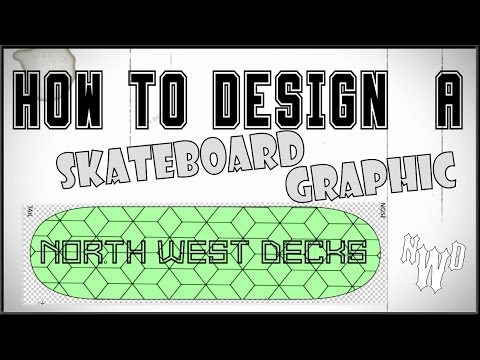 How To Design A Skateboard Graphic Tutorial