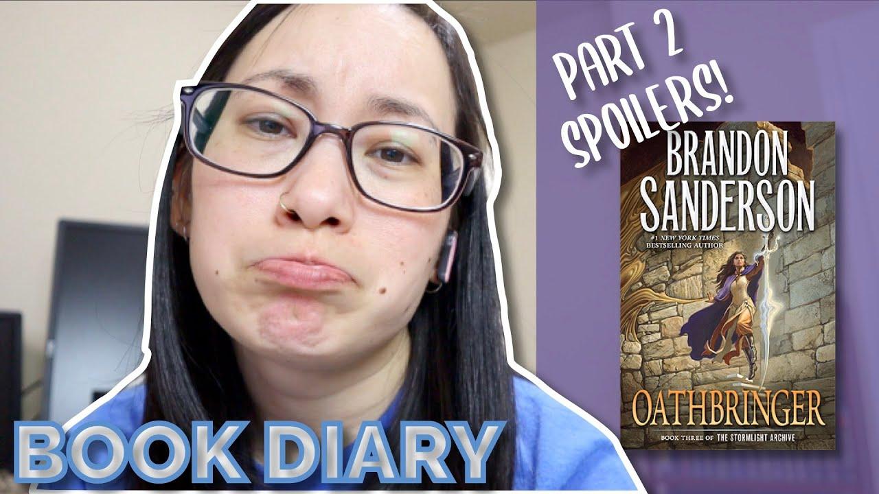 Oathbringer Part 2 Reading Vlog Book Diary