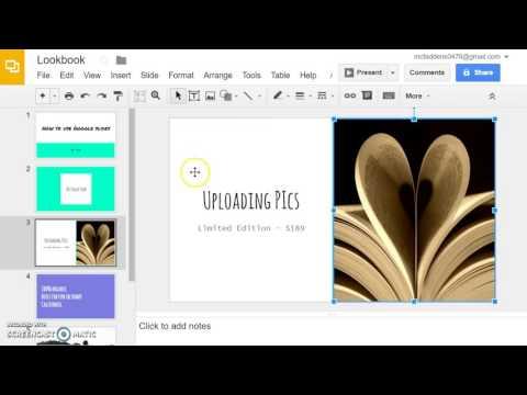 Using Google slides tutorial
