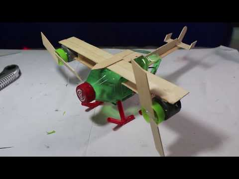 How to make a helicopter with motor - How to make RC Helicopter