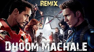 || Dhoom Reloaded || The Chase Continue || Marvel Avenger || Music Version || #Dhoom #machale