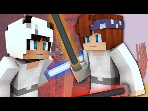 CREATING OUR FIRST LIGHTSABERS!   Minecraft Space Academy (STAR WARS Minecraft Roleplay E6)
