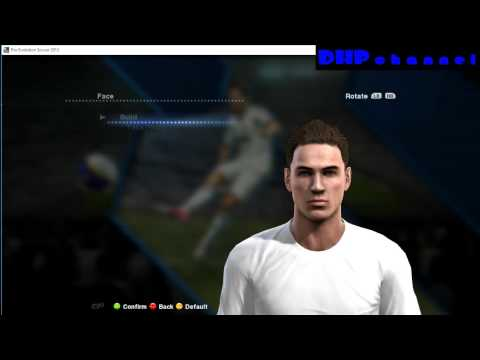 PES 2013 How to add player that you created on your own in club
