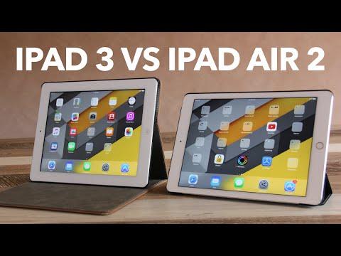 iPad Air 2 V.S iPad 3 (Performance, Design & Sound Comparison iOS 9.3.5)