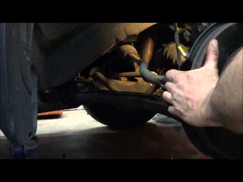 How to replace the front lower control arms on a 2004 Honda Pilot