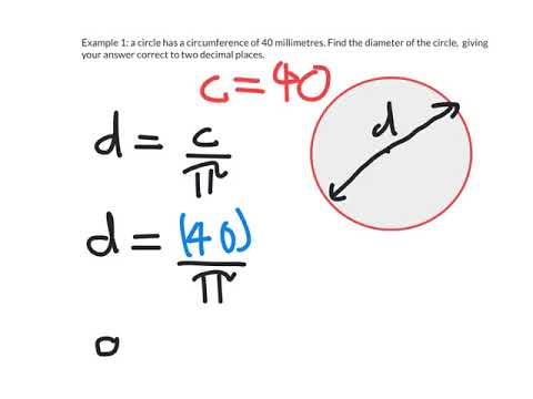 Distances with Circles 3: Finding Diameter and Radius, Given the Circumference