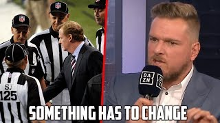 Roger Goodell Has To Respond To NFL's Referee Issues