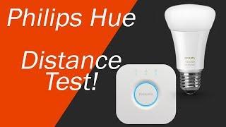 Philips Hue Maximum Distance From Bridge Test