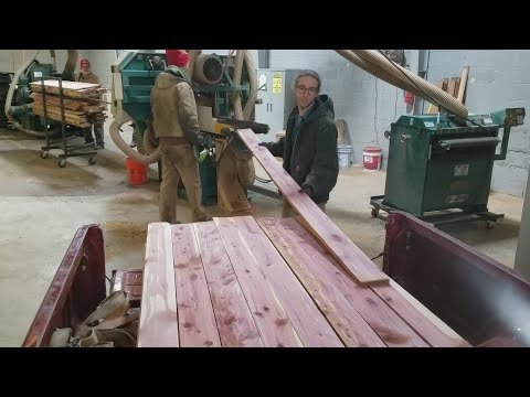 CNC and Manual Machining, Resawing Lumber and Nickel Iron Battery Work
