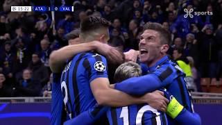 Champions League 19.02.2020 / HIGHLIGHTS FR / Atalanta BC - Valencia CF