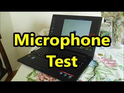 Lenovo Ideapad 100-15IBD Sound / microphone test (80QQ, 80QQ0060US)