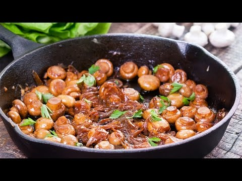 Sauteed Mushrooms with Caramelized Onion Recipe