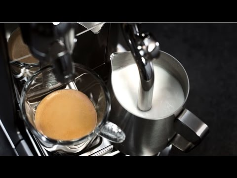 Frothing Milk with your Nespresso Creatista