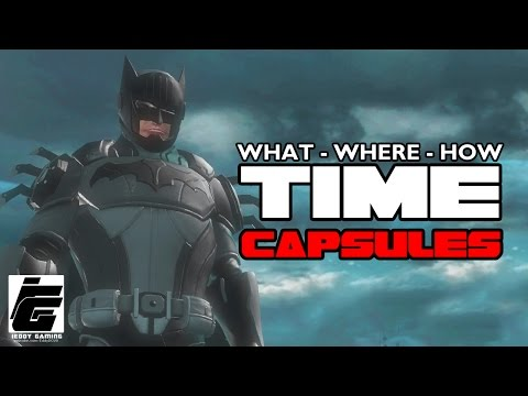 DCUO Time Capsules : What - Where - How