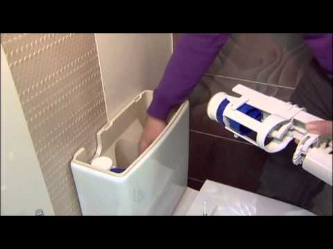 How to change a new style Geberit flush valve