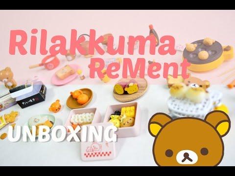 Full Set ReMent Unboxing: Rilakkuma Leisure Snack