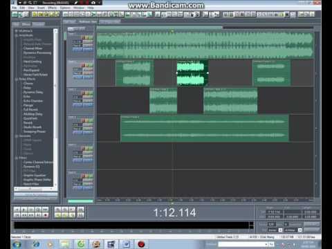 Hướng dẫn mix rap vocal adobe audition 1.5