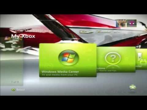 Making custom Xbox 360 Dashboard Themes
