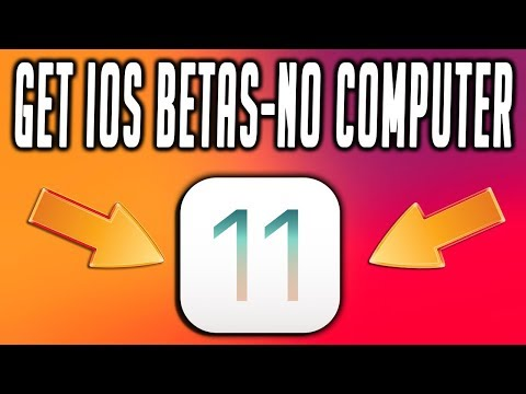 Get iOS Betas Without A Computer Free, iCloud Unlock Activation Tool Coming Soon!! TechnoTrend