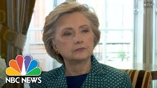 Hillary Clinton Compares Weinstein To President Trump | NBC News