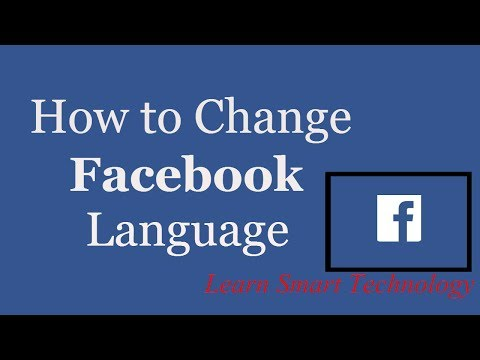 How to Change Facebook Language | Change Language Setting