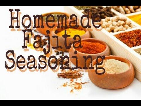 How To Make  Homemade Fajita Seasoning