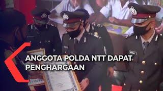 Anggota Polda NTT Raih Penghargaan di Hari Bhayangkara