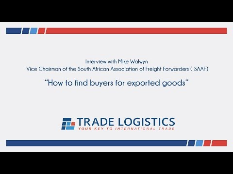 How to find buyers for exported goods