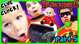 MYSTERY CLOCK with SECRET NOTE! HobbyPig Disappears in THE INCREDIBLES PART 5 Adventure