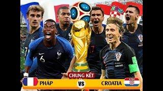 Dự đoán chính xác chung kết World Cup  2018 Pháp và Croatia: Pháp sẽ vô địch?