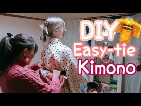 I Tried a Kimono Making Class in Tokyo!