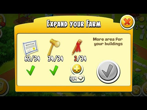 Hay Day | How to get free items of silo and barn storage | how to get free land deed, Mallet,Markers
