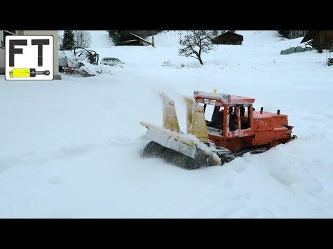 LEGO Technic snow blower (MOC) - Intrac 2011