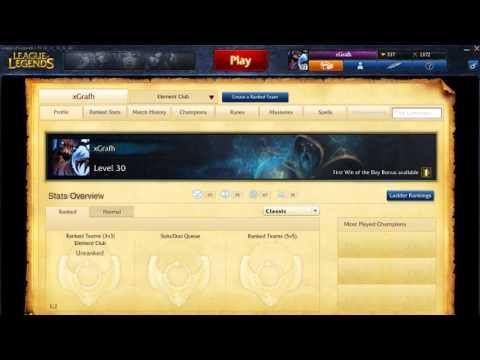 League Of Legends - Reseteo del ELO! [Información]