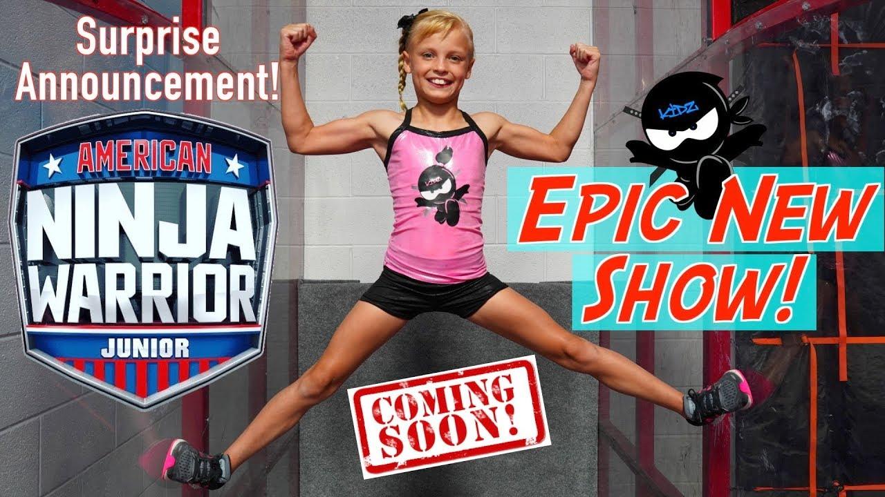 EPIC New Show! American Ninja Warrior JR! Ninja Kidz TV
