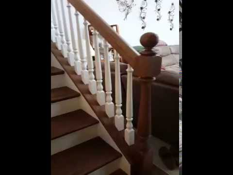 Red Oak Winder Stairs by Carpentry Plus You