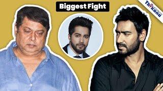 Ajay Devgn क्यों डंडा लेकर दौड़े David Dhawan को पीटने के लिए ? Sanjay Dutt ने कैसे बचाया David को ?