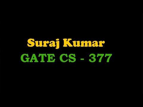 70 Suraj Kumar AIR 377